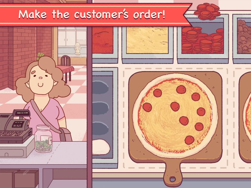 good pizza great pizza order