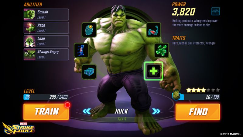 how to improve your heroes in marvel strike force