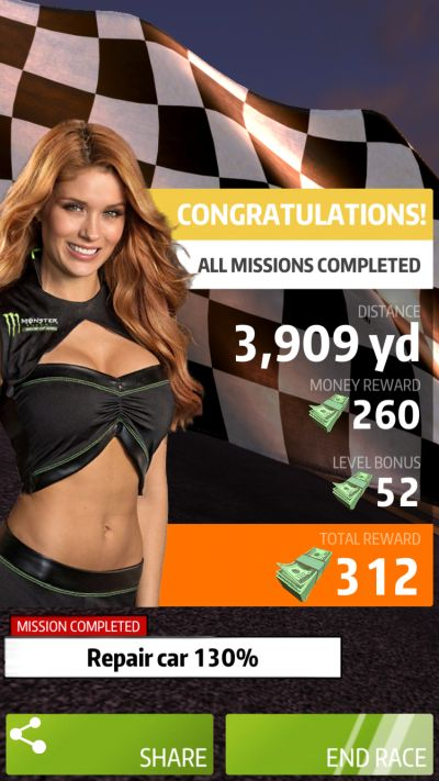 nascar rush missions
