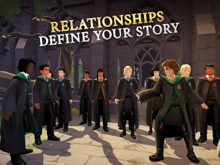 harry potter hogwarts mystery relationships