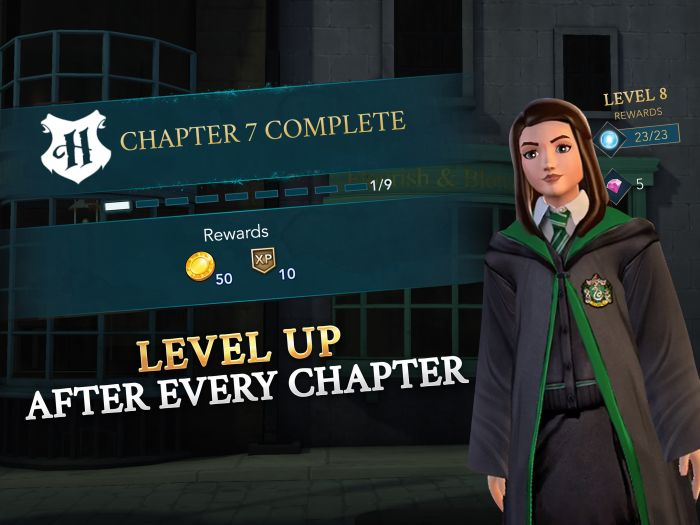 how to level up in harry potter hogwarts mystery