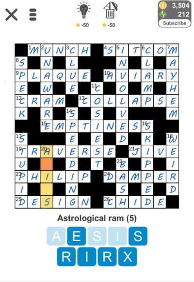 Puzzle Page Crossword Issues Answers Amp Solutions Level