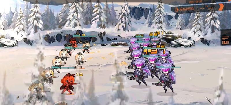 best battle formations in girls frontline