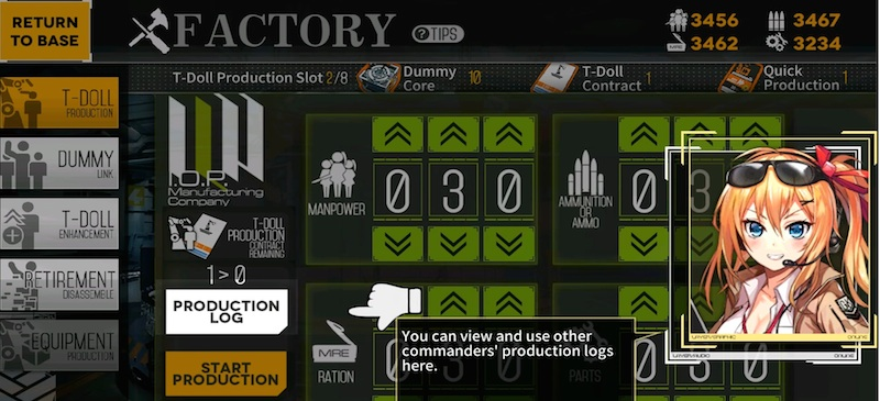how to craft in girls frontline
