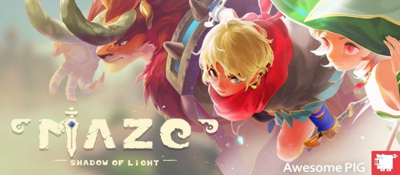 maze shadow of light guide