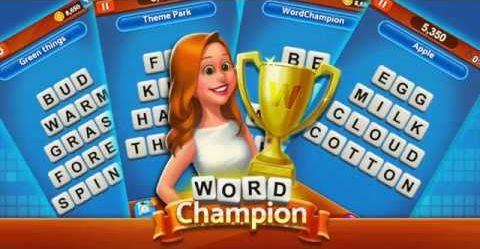 word champion answers