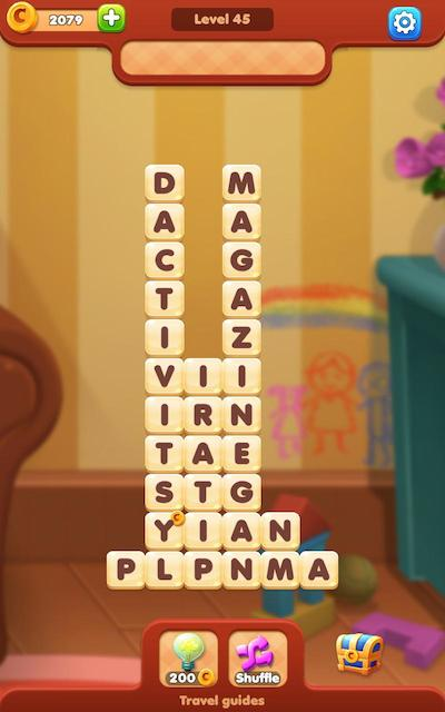 word moments answers level 45