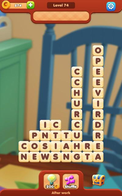 word moments answers level 74