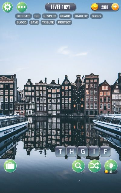 word town amsterdam answers level 1021
