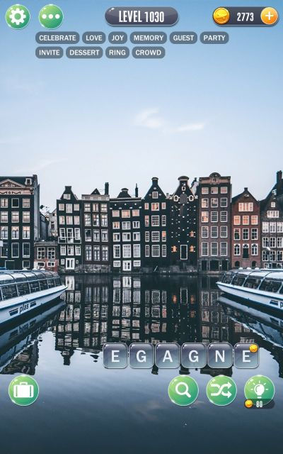 word town amsterdam answers level 1030