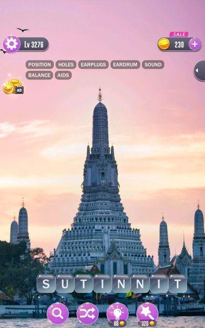 word town bangkok answers level 3276