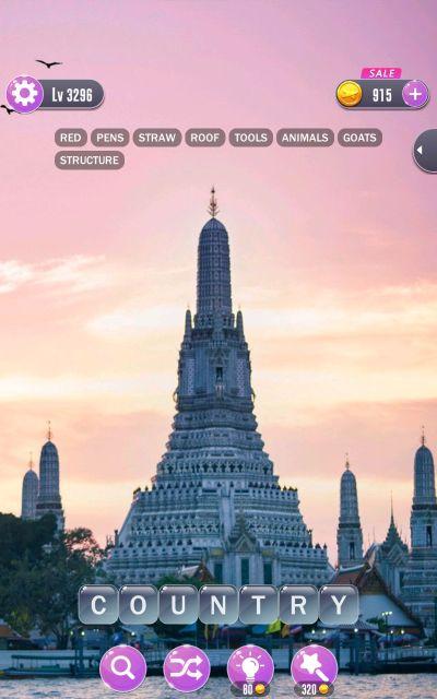 word town bangkok answers level 3296
