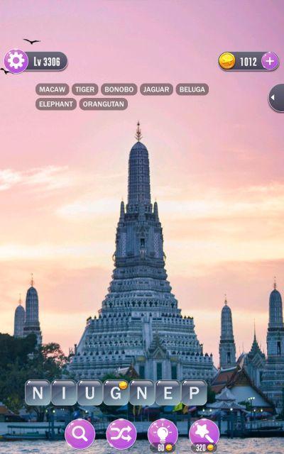 word town bangkok answers level 3306