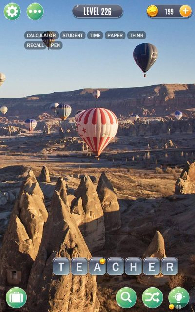 word town cappadocia answers level 226