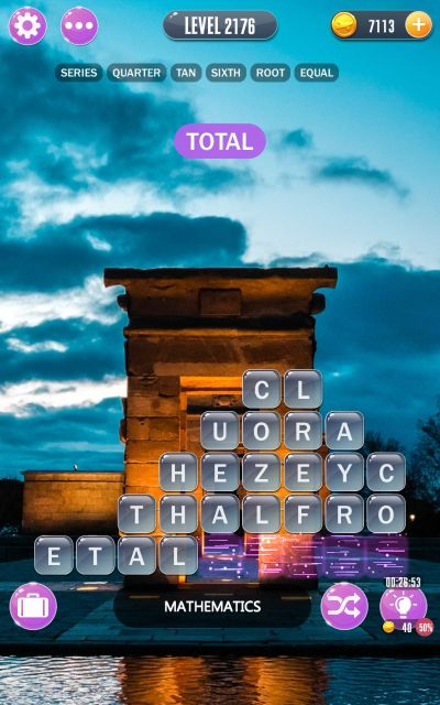 word town madrid answers level 2176