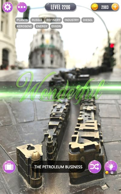 word town madrid answers level 2206