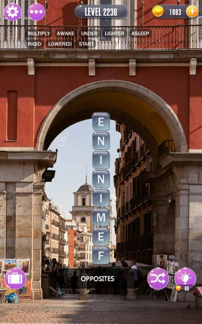 word town madrid answers level 2236