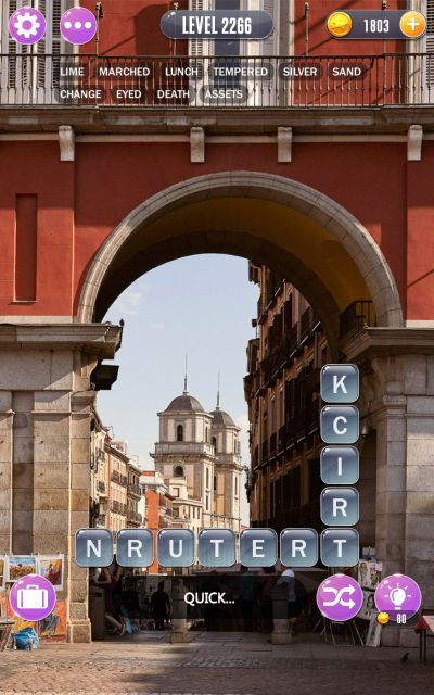 word town madrid answers level 2266