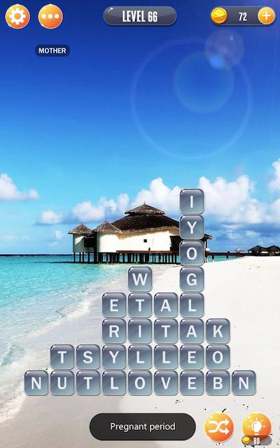word town maldives answers level 66