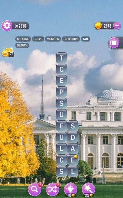word town saint petersburg answers level 2616