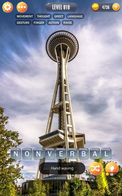 word town seattle answers level 918
