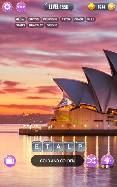 word town sydney answers level 1556