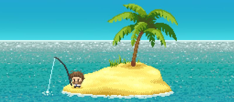 desert island fishing cheats