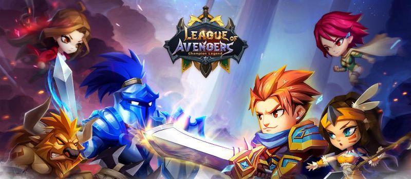 league of avengers champion legend cheats