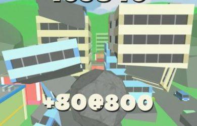 rock of destruction high score