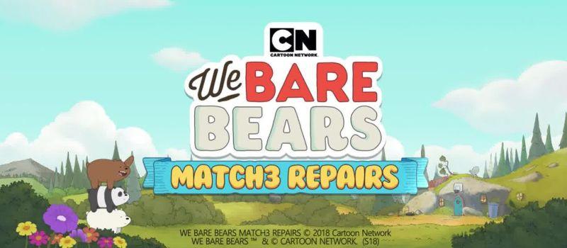 we bare bears match3 repairs cheats