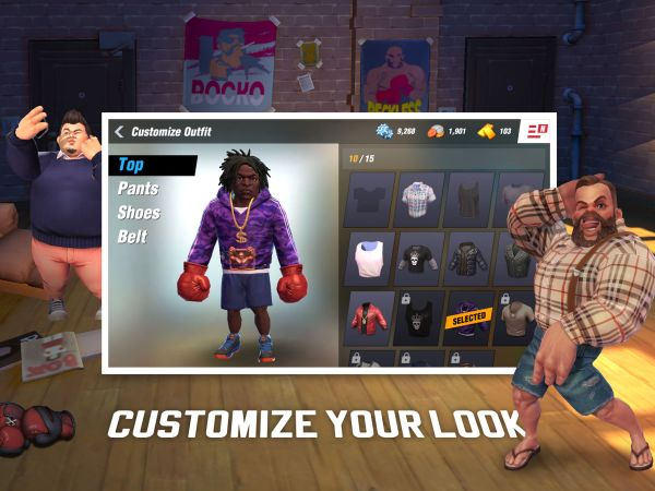 how to customize your boxer in boxing star