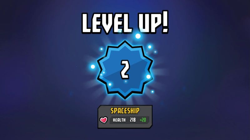 cosmic showdown leveling up