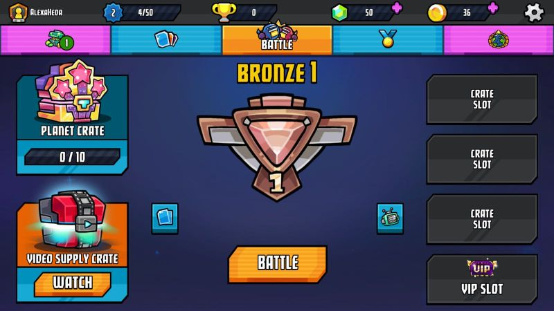 how to get more trophies in cosmic showdown