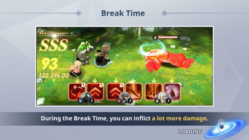 destiny knights break time