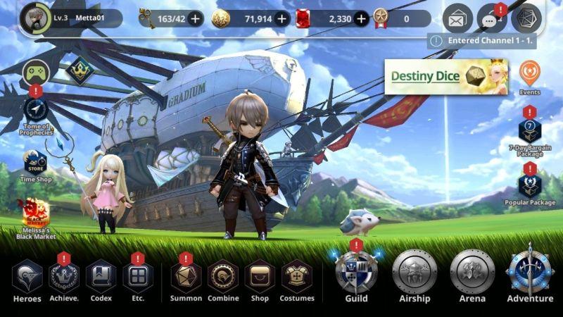 destiny knights lobby