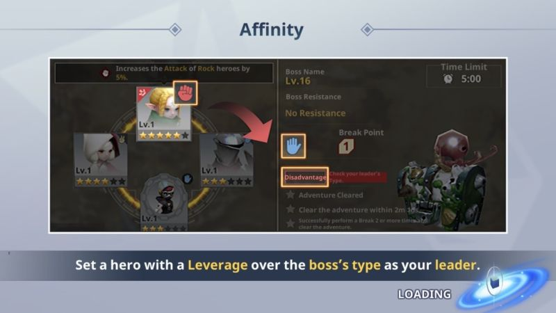 destiny knights affinity