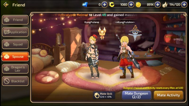 dragon nest m marriage