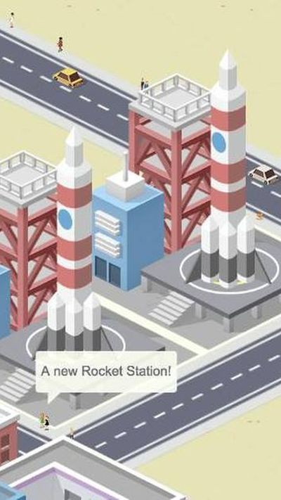 pocket city rocket launch