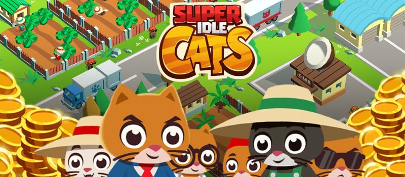 super idle cats cheats