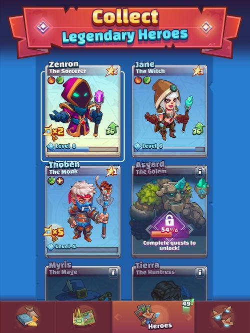 how to get legendary heroes in super spell heroes