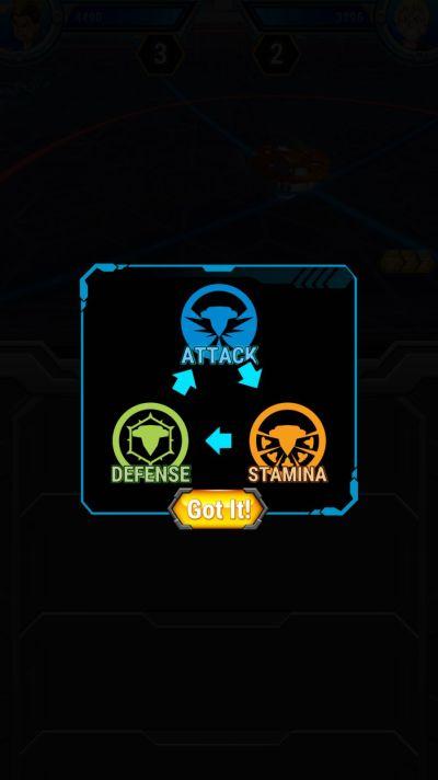 beyblade burst rivals bey type advantage chart