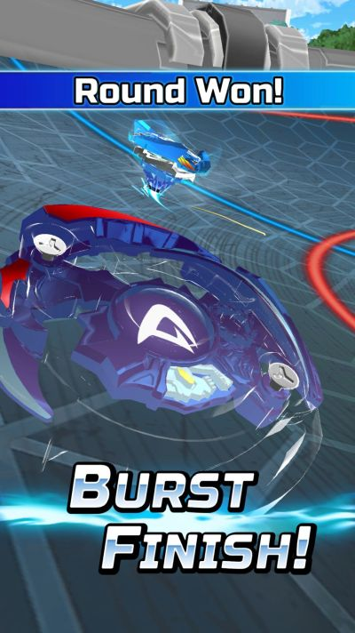 how to use burst finish in beyblade burst rivals
