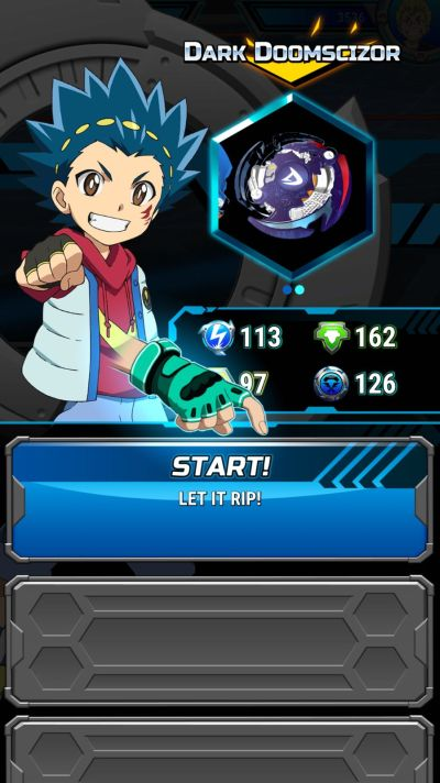 how to change beys in beyblade burst rivals