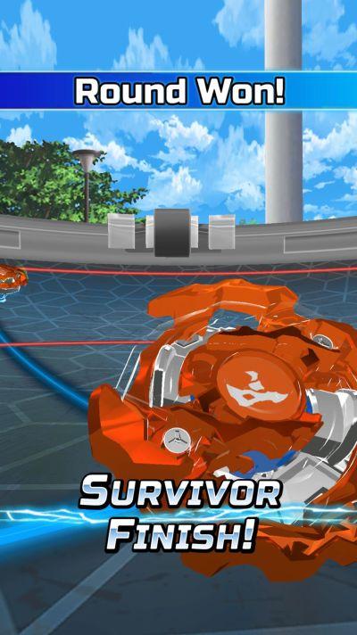 how to score survivor finish in beyblade burst rivals