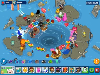 bloons adventure time td tips