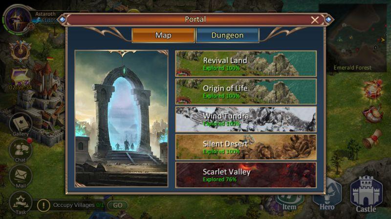dungeon & heroes portal