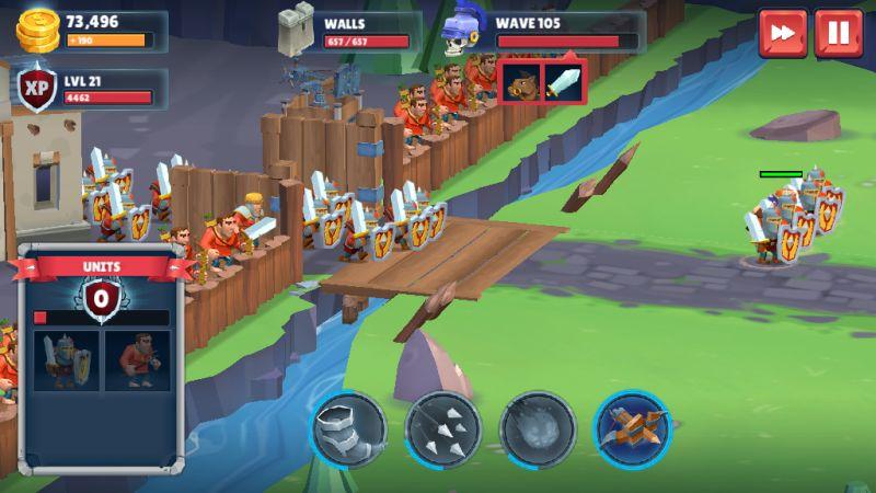 game of warriors battle tips