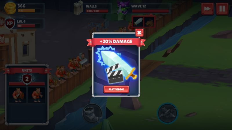 game of warriors damage buff opportunities