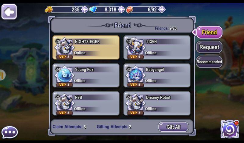 guardians clash adding friends
