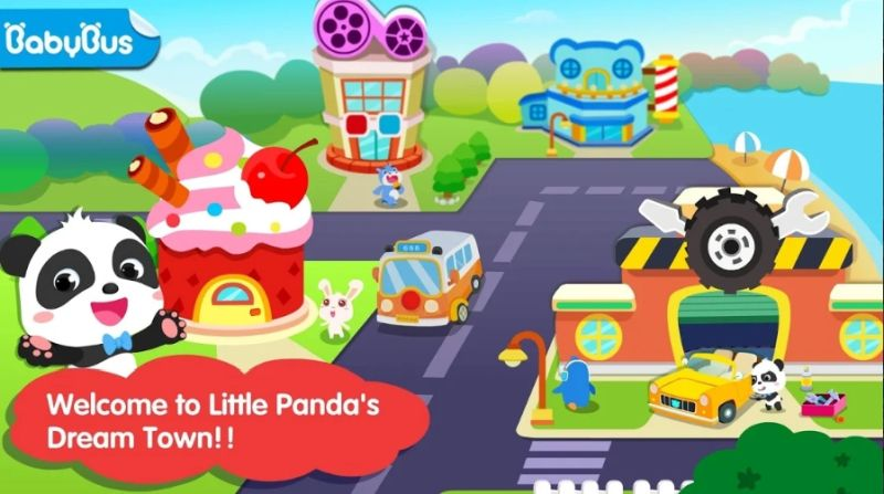 little panda's dream town